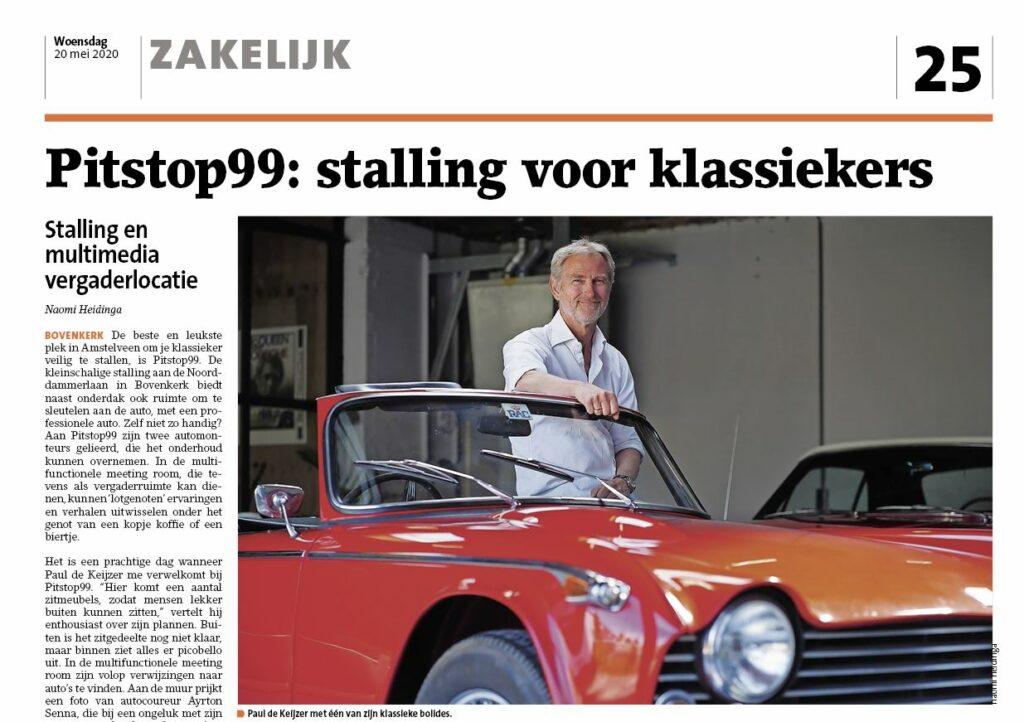pitstop99 amstelveens nieuwsblad